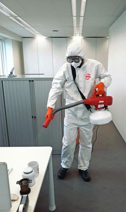 Desinfectie-virus